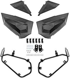 Lower Half Door Inserts Panels with OEM Style Frame Works for 2014-2019 Polaris RZR S 900 XP 1000 Turbo 60