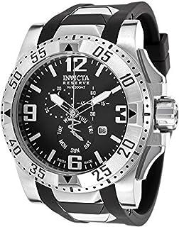 インヴィクタ インビクタ 腕時計 Invicta Men's 18202 Excursion Stainless Steel Watch With Black PU Band [並行輸入品]