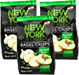 New York Style Garlic Bagel Crisps, 7.2 oz (Pack of 3)...