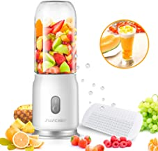 Portable Blender Shakes and Smoothies, Juschef USB Rechargeable and Cup Detachable Personal Size Juice Mixer, FDA Approved