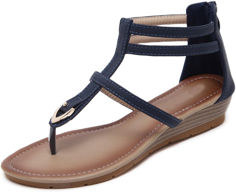Dreneco Women Wedge Sandals,Summer Flip-Flops shoes for Ladies