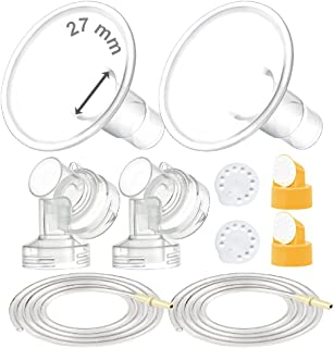 Maymom MyFit Pump Parts Compatible with Medela PersonalFit Medela Breast Pump, Pump in Style Advanced, Lactina, Symphony, ...