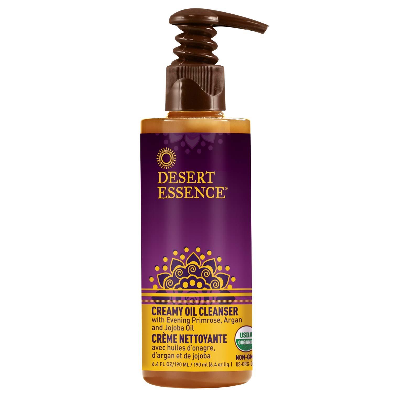 Desert Essence Creamy Oil Cleanser - 1 Beauty products year warranty Fl Pure Oz Based 6.4