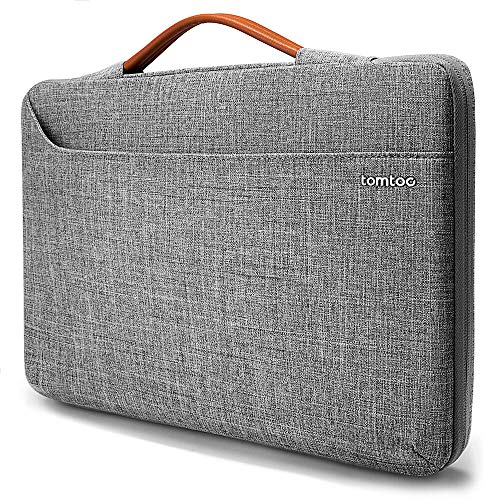 tomtoc Laptoptasche Hülle Laptop Tasche kompatibel mit 15 Zoll Neu MacBook Pro A1990 A1707   14 Zoll Laptops ThinkPad X1 Carbon HP Acer Chromebook wasserdicht Notebook Sleeve Laptophülle Schutzhülle
