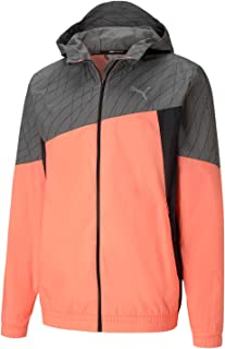 PUMA Men's Hooded Running Jacket