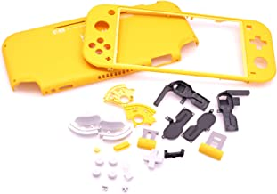 Deal4GO Genuine Replacement Full Housing Shell kit with ZR ZL ABXY D-pad Buttons for Nintendo Switch Lite (Yellow)