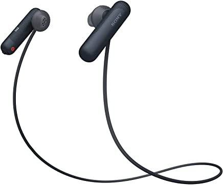 Sony WI-SP500/BQ E Sports Headphones, Black