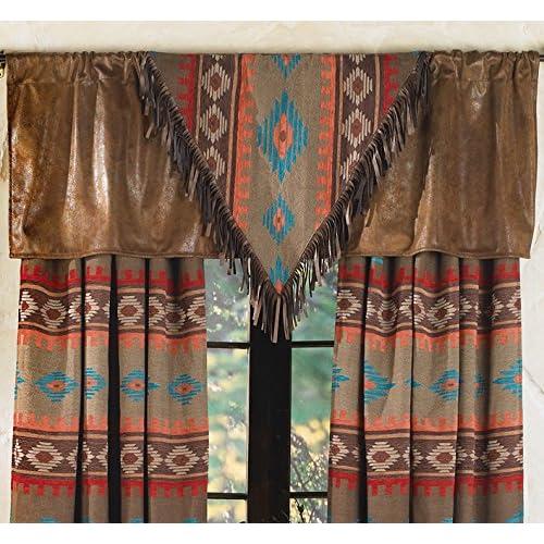 Rustic Cabin Decor Window Treatments: Amazon com