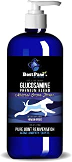 Glucosamine Chondroitin for Dogs and Cats → Premium Hip and Joint Care Food Supplement → Pet Vitamins to Extend Your Puppy or Senior's Mobility → Advanced Liquid Arthritis Pain Relief Medicine