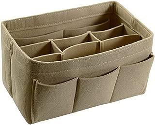 Felt Fabric Purse Handbag Organizer, Bag in Bag, used in Car, Bathroom, Shopping