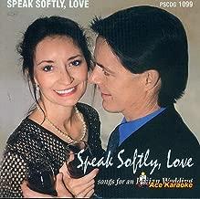 Speak Softly, Love songs for an Italian Wedding