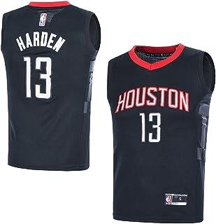 947e623c8 Outerstuff Youth NBA 8-20 Houston Rockets  13 James Harden Swingman Jersey  Black