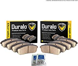 For Ford F250 F350 Super Duty & Excursion Ceramic Front & Rear Brake Pads - Duralo 141-1413 New