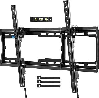 Pipishell Tilt TV Wall Mount Bracket Low Profile for Most 26-75 Inch LED LCD OLED PlasmaFlat Curved Screen TVs, Large Til...