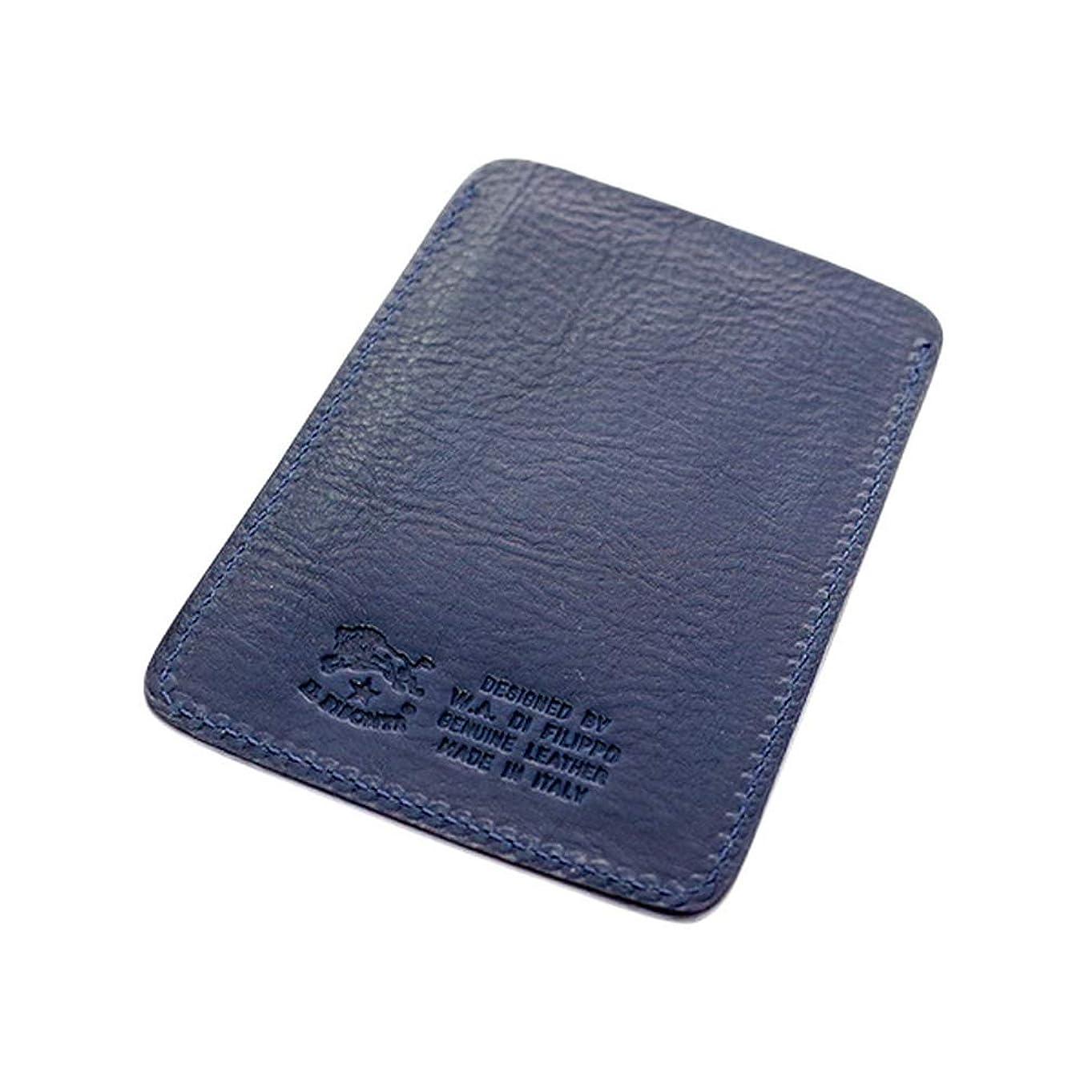 拘束するペースト粘着性イルビゾンテ IL BISONTE パスケース メンズ レディース 54-1-411618 C0468MP-866 ネイビー 財布?小物 カードケース mirai1-565178-ak [並行輸入品]