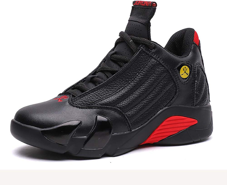 Autumn Winter Mans skor, skor, skor, Mode Sports springaning läder Basketball skor Works, 42  snabb frakt till dig