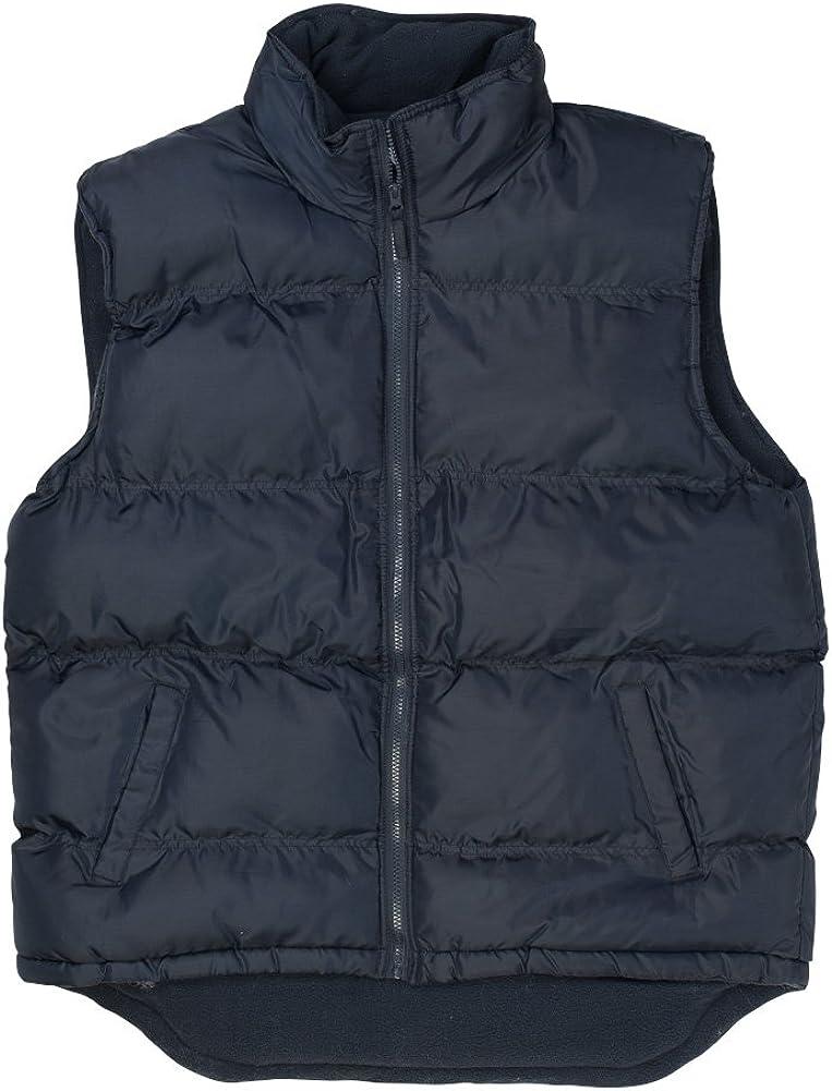 North 15 - Men's Nylon Puffer Vest Polar Fleece Lined