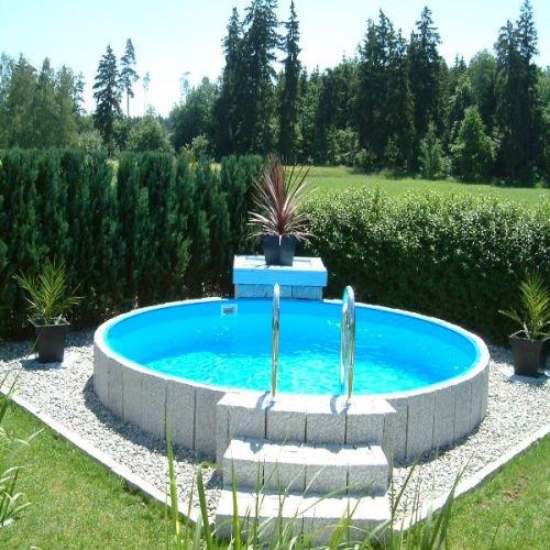 Poolzon Rundpool Fun-Zon 4,00 x 1,20m Stahlwandbecken Rundbecken Stahlwandpool 400x120 cm