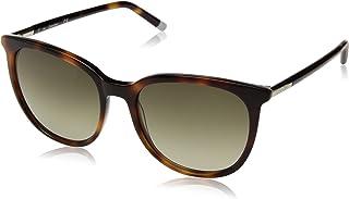 كالفن كلاين نظارات شمسية للنساء ، لون العدسة اخضر ، CK4356S