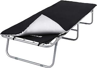 Noir GNEGNI Tabouret Pliant Camping Tabouret Chaise Portable Chaise Pliable Mini Tabouret Pliant Facile pour Camping Randonn/ée P/êche