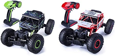Jack Royal Rock Crawler 4WD Remote Control Rally Car 1:18 Scale (Green) (Assorted Colors) & Jack Royal Rock Crawler 4 WD R...