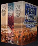 The Civil War: A Narrative: Fort Sumter to Perryville, Fredericksburg to Meridian, Red River to Appomattox 3 Volume s Box Set