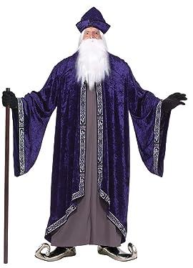 Forum Novelties Men's Grand Wizard Deluxe Designer Adult Plus Size Costume