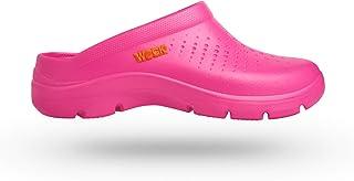 WOCK Flow Zapato de Trabajo Unisex Cómodo Muy Ligero Protección Superior contra Líquidos Fuschsia