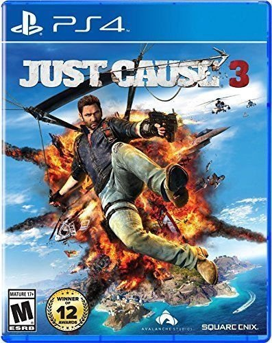 PS4 Just Cause 3 Brand New Factory Sealed Playstation 4