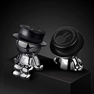 Magnetic Car Phone Holder AUSELECT Dashboard Phone Mount Little Man A Style Black Hat