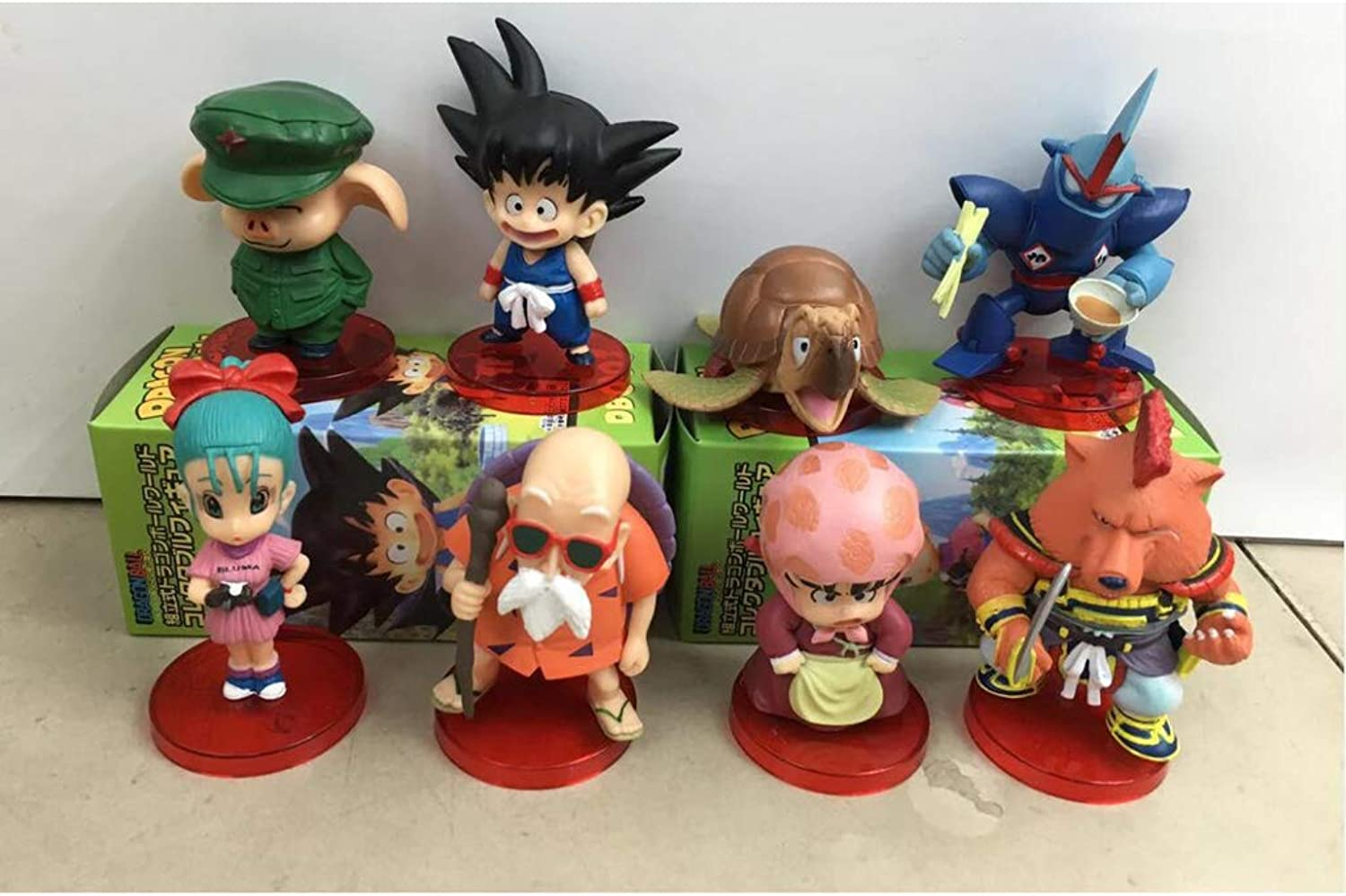 Toy Statue Toy Model Cartoon Character Collection Souvenir   8 Set JSFQ
