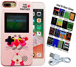 Color Screen Gameboy Case for iPhone Xs Max with 36 Small Games, Retro Gaming Case for iPhone Xs Max