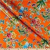 Oil Cloth International 0665461 Oilcloth Mariposa Orange