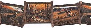 York Wallcoverings WD4105B Whitetail Framed Deer Border