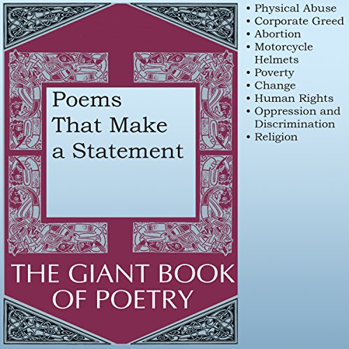 Poems That Make a Statement audiobook cover art