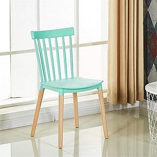 Sillas de la cocina del hogar de la sala de sillas Creativo sencillo Moderno restaurante de heces acogedor estilo nórdico multifuncional Cafe de comedor y sillas adapta for el postre tienda Tea Shop C