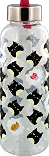 Feline Fine Cat Water Bottle with Metal Lid 6 x 21cm
