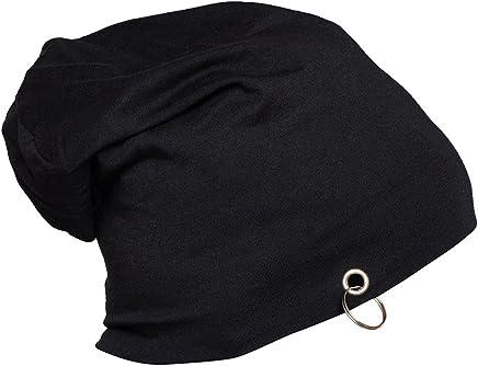 Vimal Men's Cotton Beanie and Skull Cap (Black)