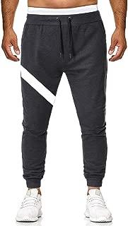 Mens Jogging Pants Tracksuit Bottoms Cotton Running Trousers Hiphop Dance Jogger