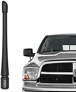 Rydonair Antenna Compatible with 2012-2019 Dodge Ram 1500 | 7 inches Rubber Antenna Replacement | Designed for Optimized F...