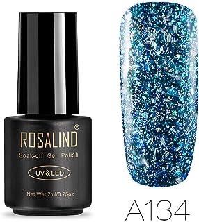 ROSALIND Firework Series - Esmalte semipermanente gel uv y led de uñas 7 ml gel nail polish