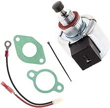 Notos 12 757 09 Carburetor Fuel Solenoid for Kohler 12-757-33 S 12-435-02-S 12-757-09-S 1275733 CV11 CV12 CV12.5 CV13 CV14 CV15 CV16 CH11 CH12 CH14 CH16 Engine Replace John Deere STX38 LX255 AM128242