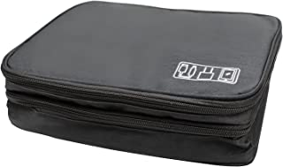 Auch Electronics Travel Organizer Storage Bag, Double Layer Universal Traveling Gear Accessories Carrying Cover Pouch for ...