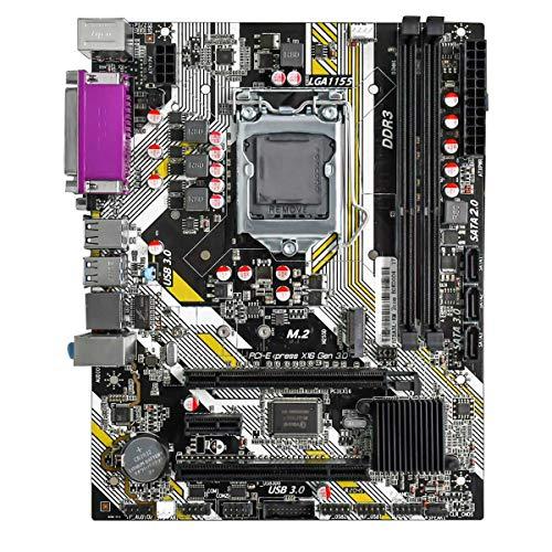 Basage Placa Base para Juegos B75AL D3 16G LGA1155-Pin I3 / I5 / I7 y Celeron, Pentium Series 2/3 Generation / 1060/1333 / 1600MHz