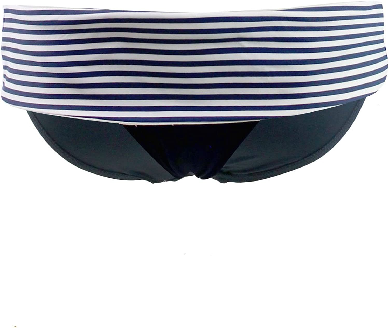 OFFicial site Seafolly Women's Riviera Stripe Rolltop Indefinitely Bikini Hipster Bottom Sw
