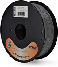 Octave Grey ABS Filament for 3D Printers - 1.75mm 1kg Spool