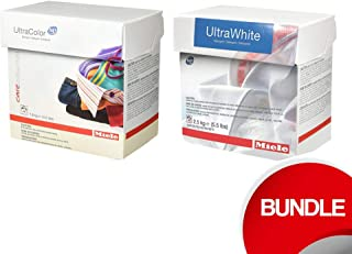 Miele Powder Detergent Bundle - Ultra Color and Ultra White 48 Loads Each (2.5 KG Each)