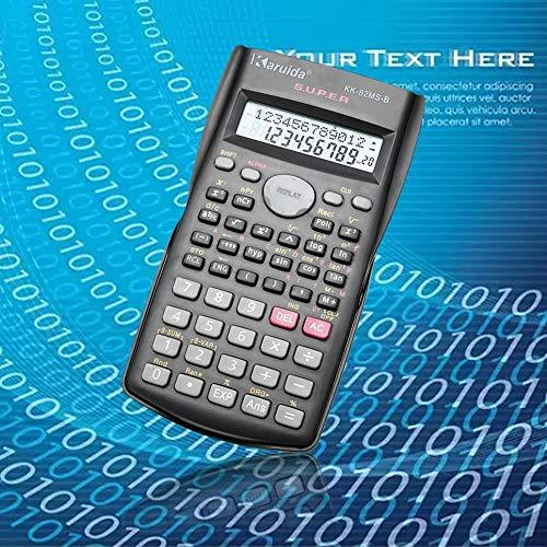 JUNERAIN 82MS-A draagbare multifunctionele rekenmachine voor wiskunde onderwijs