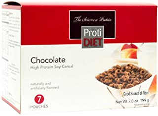 Protidiet High Protein Chocolate Soy Cereal (7 Pouches)