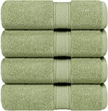Utopia Towels - Bath Towels Set, Sage Green - Luxurious 700 GSM 100% Ring Spun Cotton - Quick Dry, Highly Absorbent, Soft Feel Towels, Perfect for Daily Use (4-Pack)